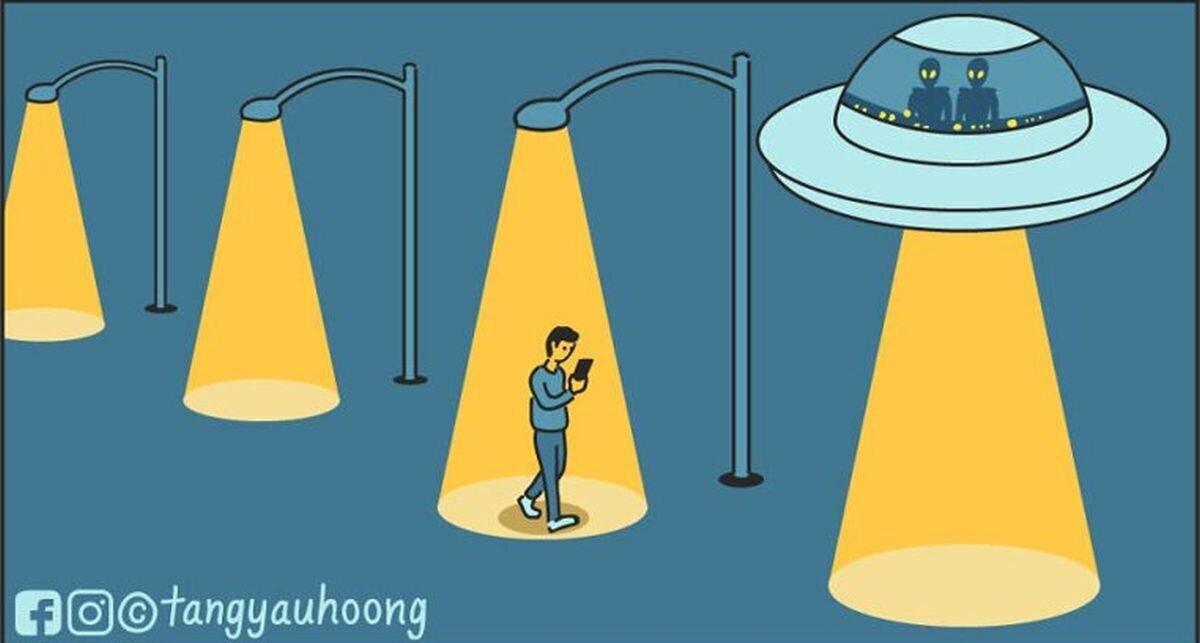 Комиксы с неожиданным финалом от Танг Яу Хунга (31фото)