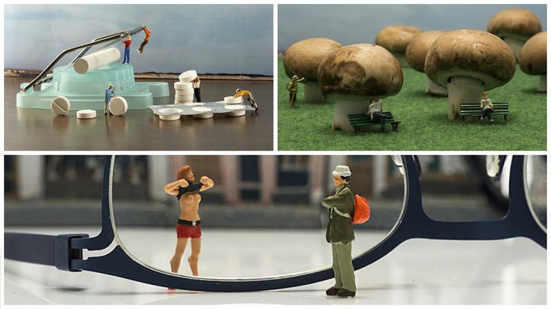 Фотограф создает мир миниатюрных людей (25фото)