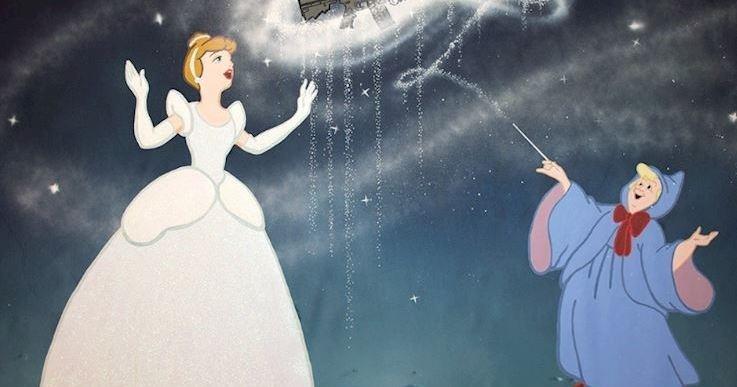Смертельное очарование диснеевских принцесс в стрит-арте шведского художника (15фото)