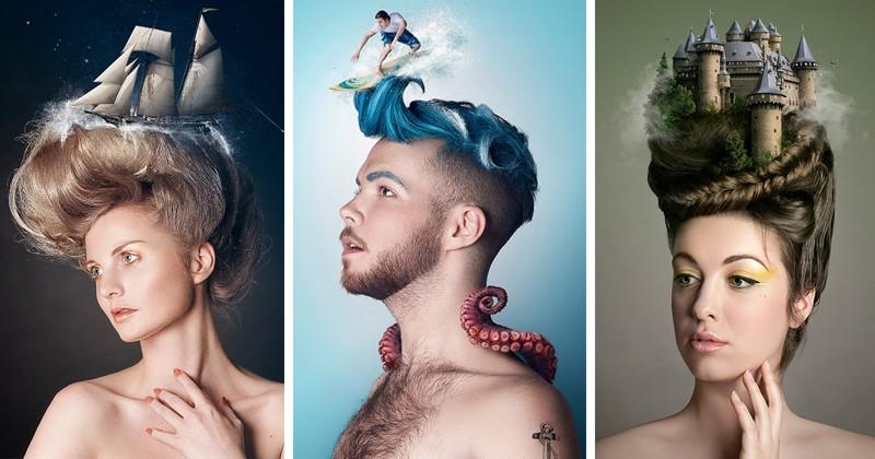 Мечты и мысли людей отображаются в их сюрреалистических портретах (10фото)