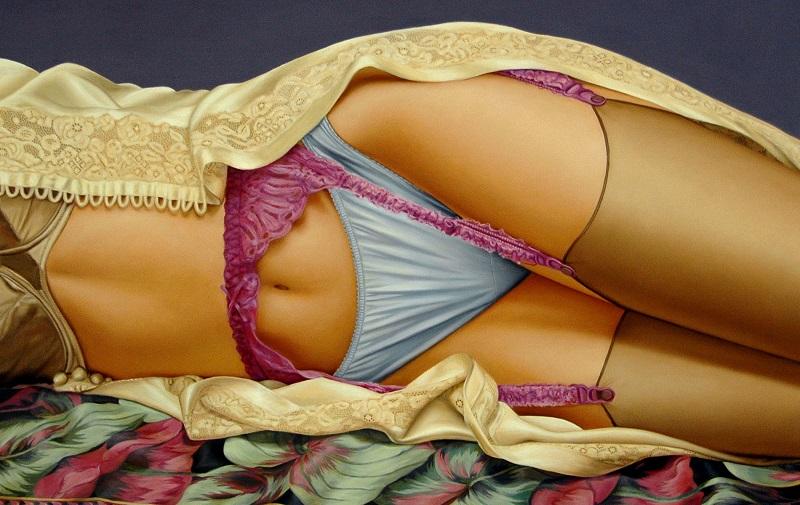 18 аппетитных картин девушек в соблазнительном нижнем белье (18 фото)
