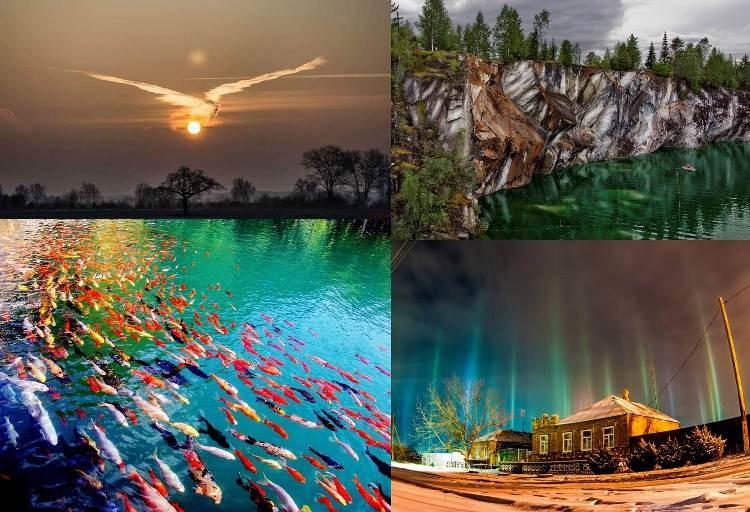 20 нереальных фотографий, над эффектностью которых потрудилась сама природа (21фото)