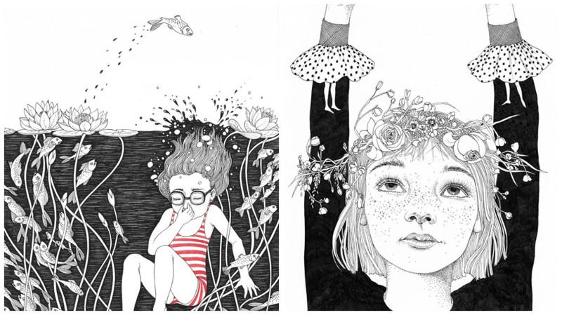 Моё детство — красивые и поэтичные иллюстрации от художницы Светы Дорошевой (12фото)