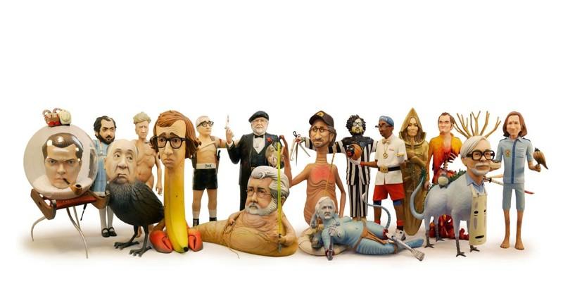 Сатирические скульптуры знаменитых кинорежиссеров от Майка Ливитта (17фото)
