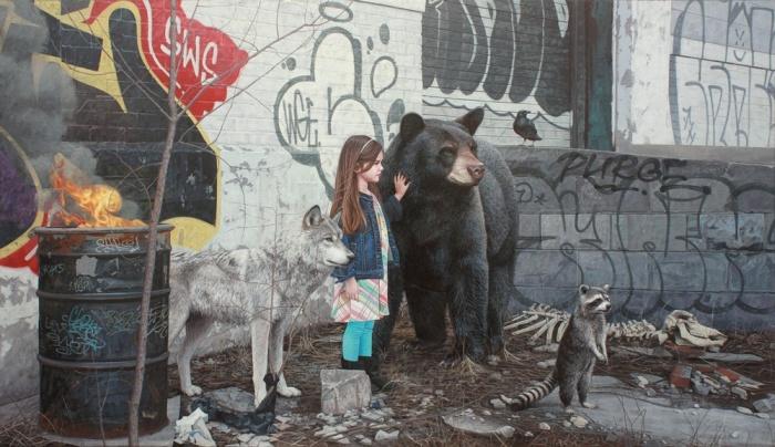 Трогательные рисунки детей и животных от Кевина Питерсона (14 фото)