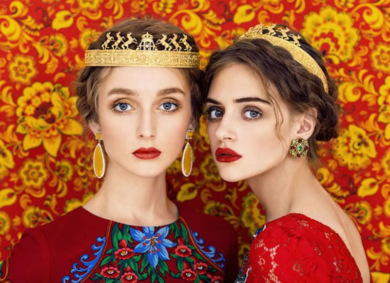 Дань фольклорным традициям: славянские красавицы в объективе модного фотографа (10фото)