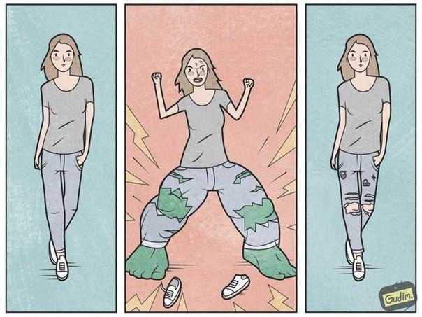 Тонкие и саркастичные иллюстрации, показывающие нашу жизнь такой, как она есть (24фото)