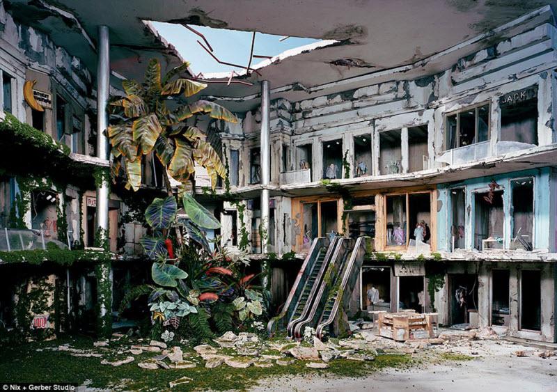 Как выглядит конец света: художница делает реалистичные до ужаса миниатюры постапокалипсиса (17 фото)