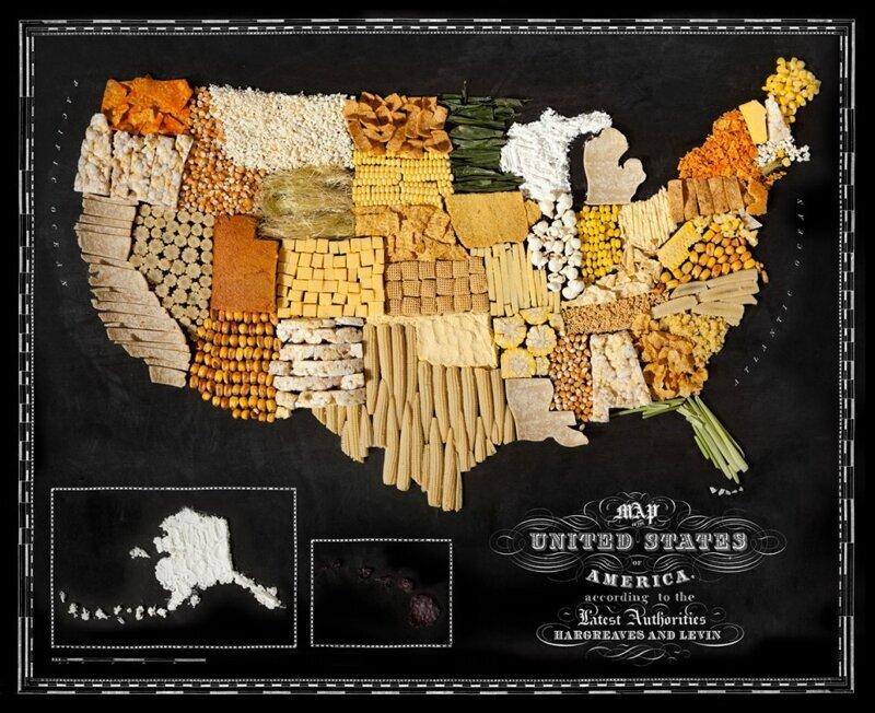Страны мира на вкус (12фото)