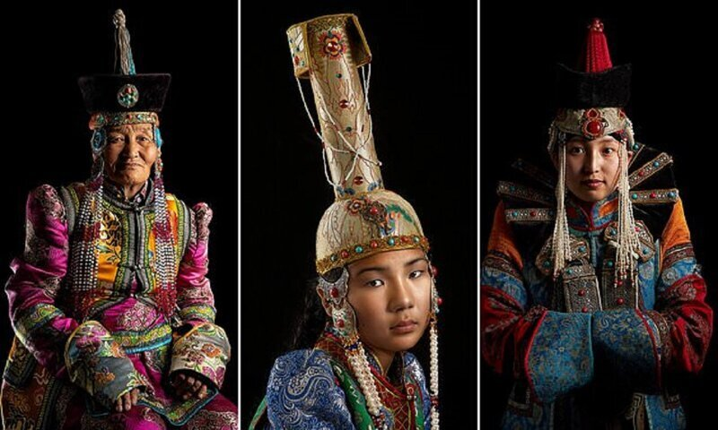 Традиционная одежда монголов: неожиданное богатство (13фото)