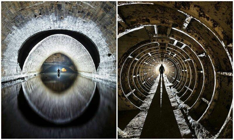 Заброшенные тоннели и истории, которые они хранят (27фото)