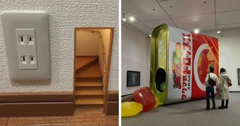 Японские дизайнеры создают мир в миниатюре (31фото)