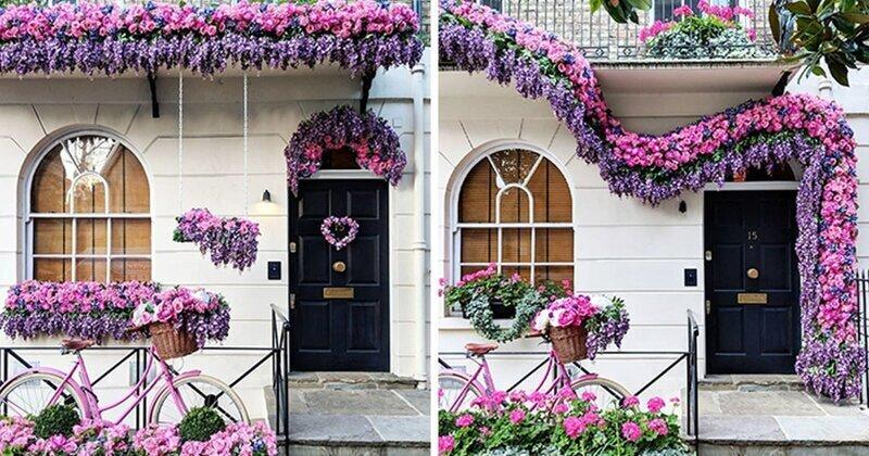 30 входных дверей, которые выглядят как декорации к фильму Уэса Андерсона (31фото)