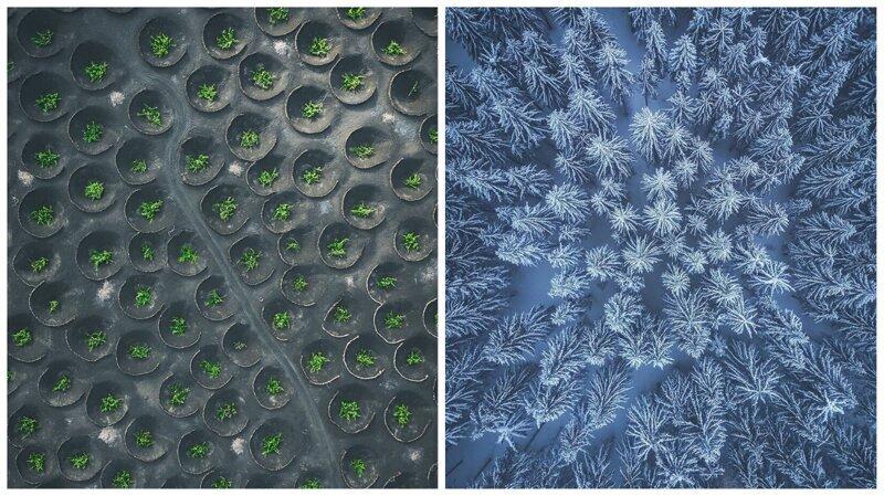 Фотограф показал, какие потрясающие узоры рисует для нас Земля (13фото)