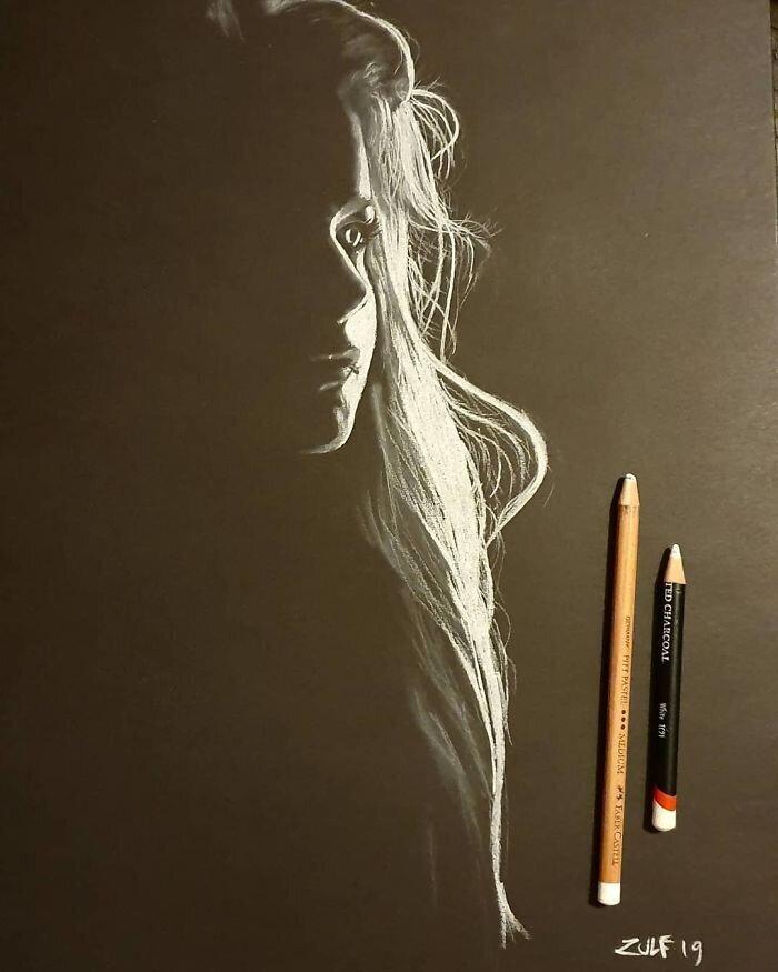Художник пишет потрясающие портреты женщин (19фото)
