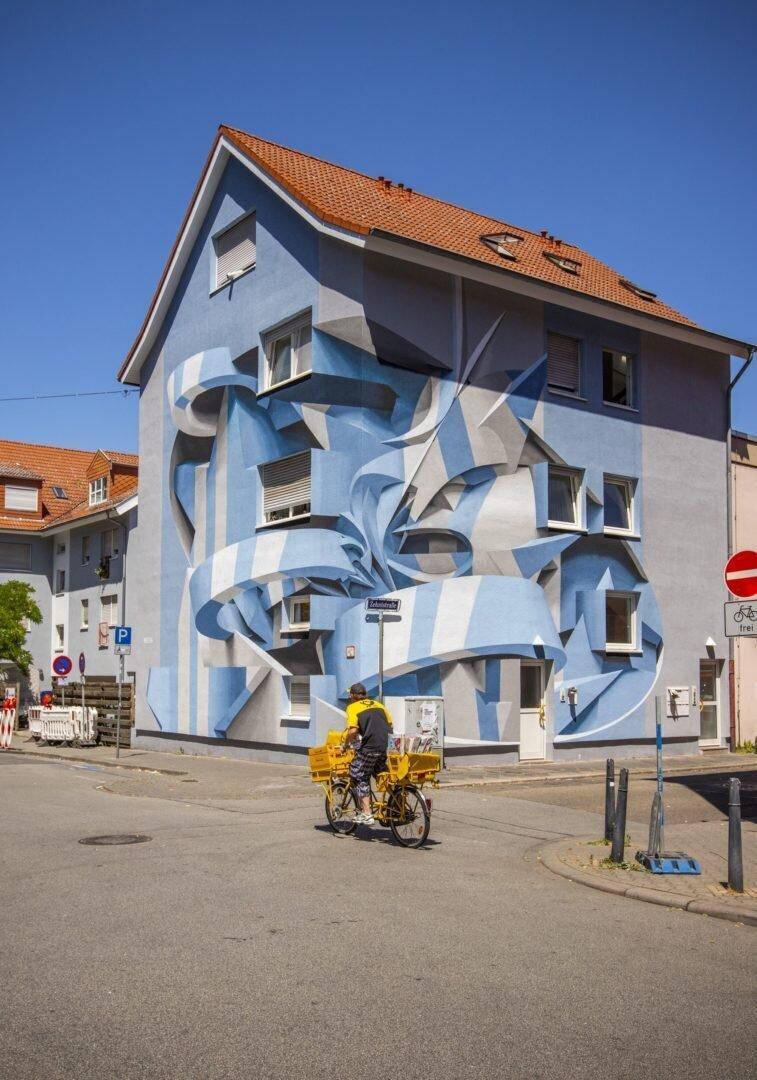 Поразительные 3D граффити от Мануэля де Рита (11фото)