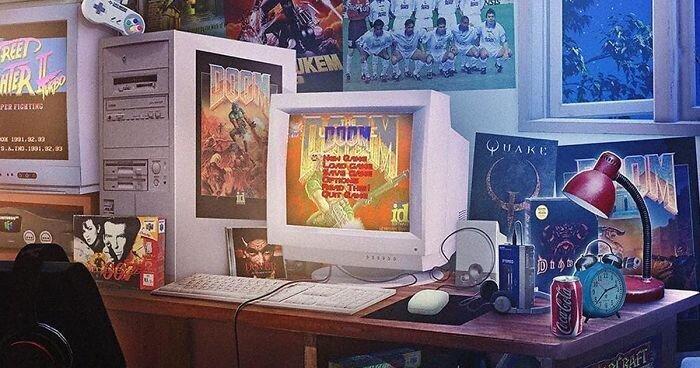 Художник рисует ностальгические арты по старым видеоиграм (32фото)