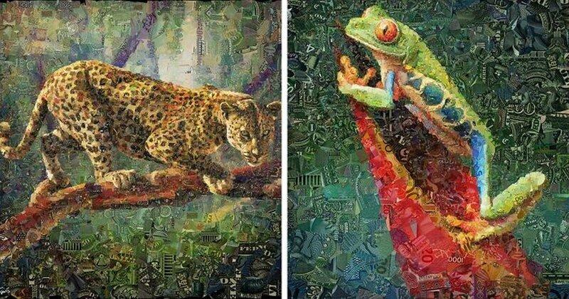12 портретов животных из денежных джунглей (16фото)