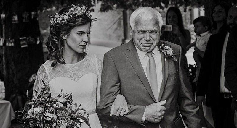 20 лучших непостановочных снимков с конкурса свадебной фотографии (21фото)