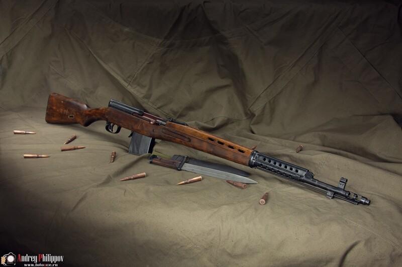 Фотосессия АВТ, Автоматическая винтовка Токарева (7фото)