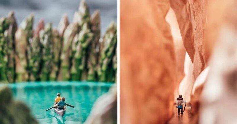Девушка делает удивительные фотографии природы не выходя из дома (13фото)