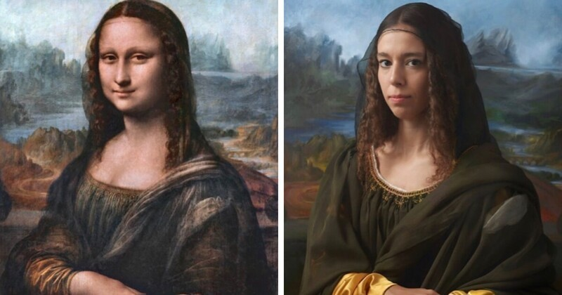 Британский фотограф показал, как выглядят потомки людей, оставивших след в истории (13фото)
