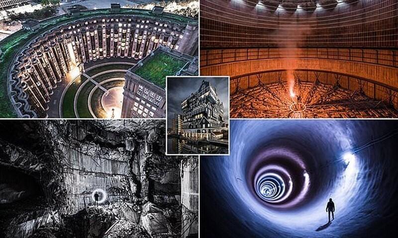 Захватывающий мир городской архитектуры с неожиданных ракурсов (20фото)