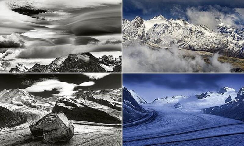 Красота Альп с высоты птичьего полета (11фото)