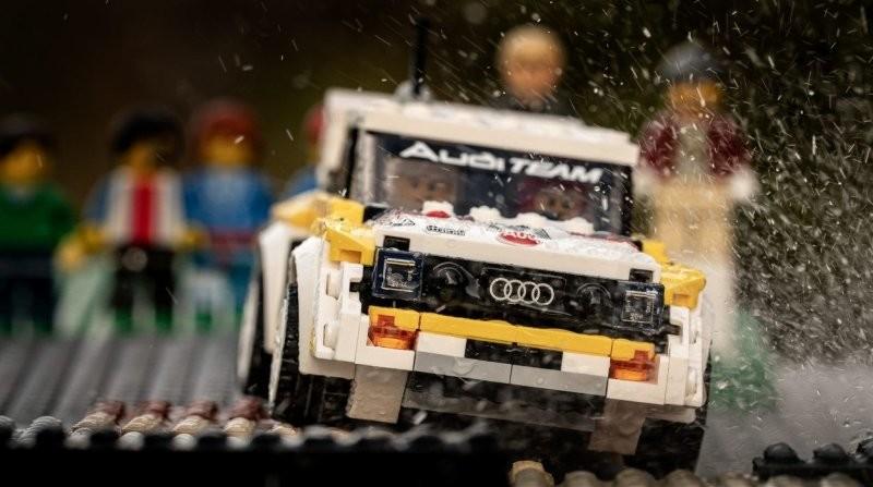Фотограф воссоздал культовые раллийные кадры ралли «Группы Б» с помощью Lego (30фото)