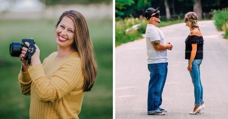 Два абсолютно незнакомых человека приняли участие в любовной фотосессии (15фото)