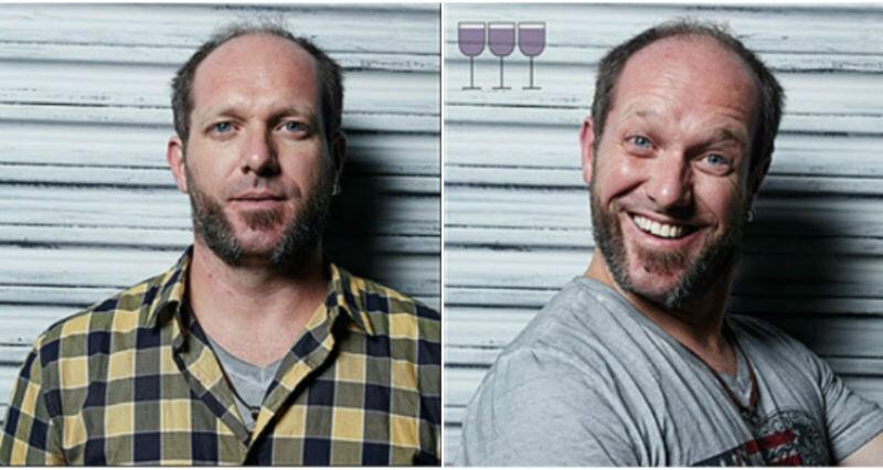 Все оттенки пьяного: лицо до и после пары бокалов (16фото)