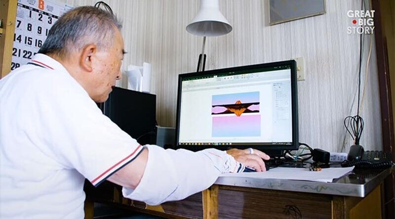 80-летний японский дедушка рисует невероятные картины в Microsoft Excel (18фото+1видео)