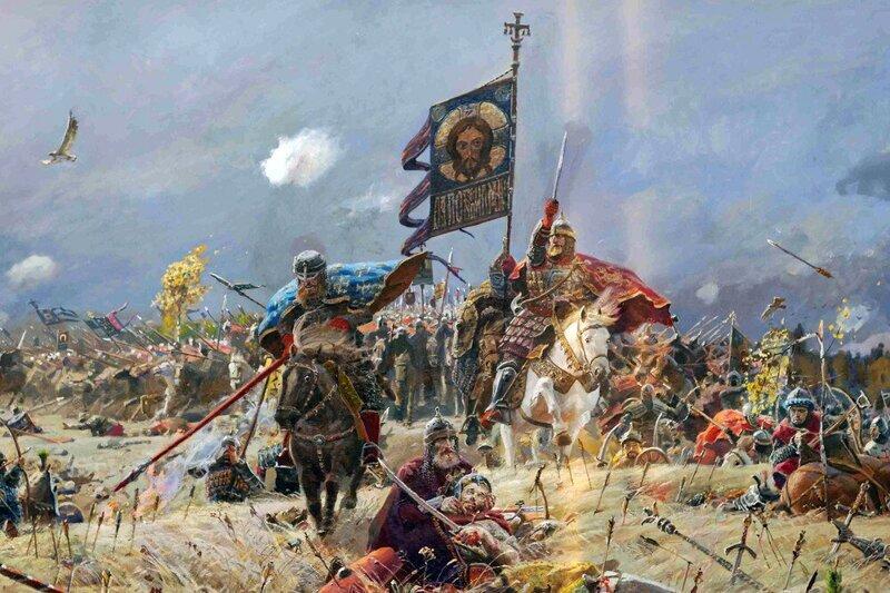 Великая история России в атмосферных картинах Павла Рыженко (15фото)