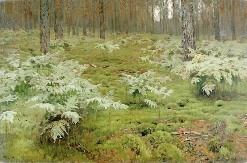 Художник Исаак Ильич Левитан (1860-1900)