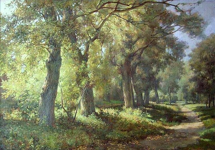 Красота природы в картинах Екатерины Калиновской (35фото)