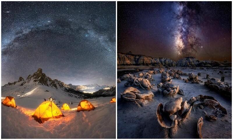 Это просто космос: снимки Млечного пути с конкурса астрофотографии (15фото)