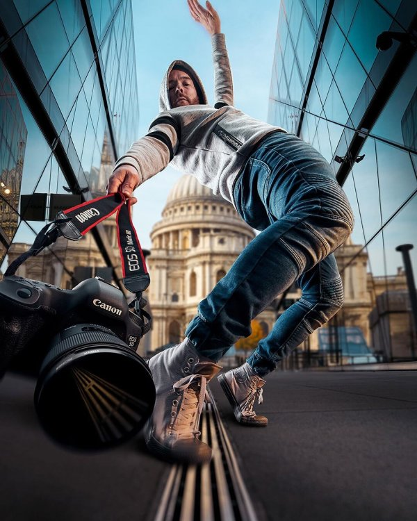 Британский фотограф Марк МакГи - мастер динамичных фотосессий (20 фото)