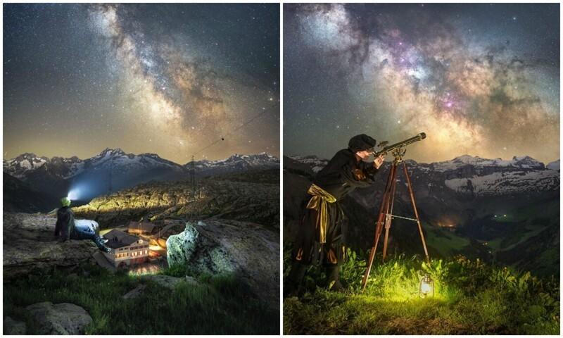 Потрясающие ночные фото, которые напоминают сцены из фантастики (31фото)