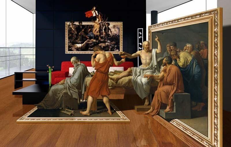 Расширяем границы произведений искусства (20фото)