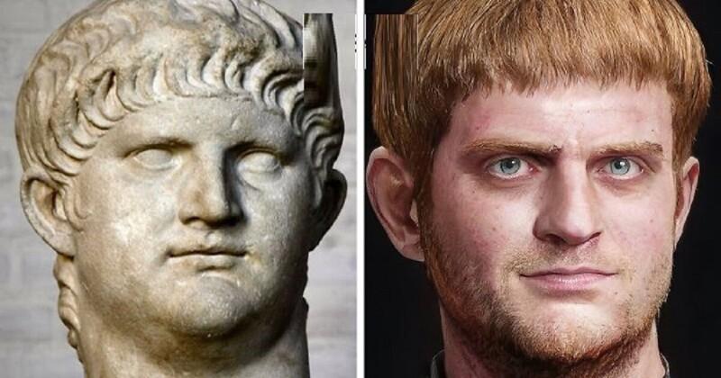 Как выглядели римские императоры на самом деле? (31фото)