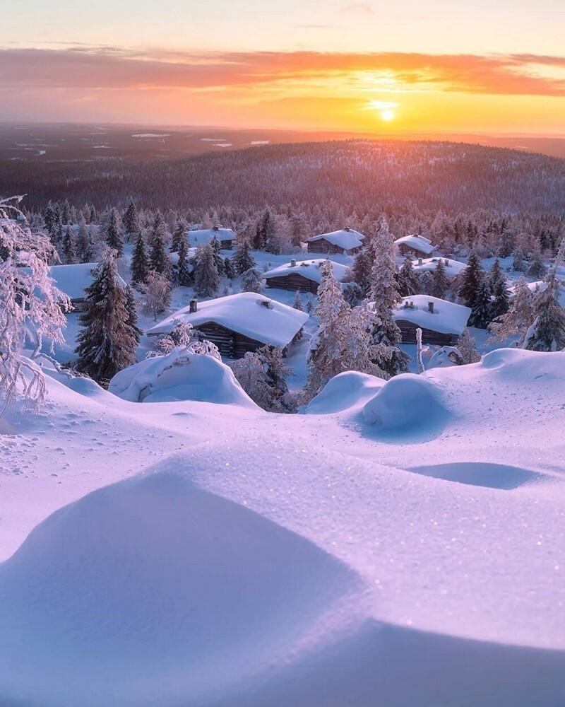 Зимняя сказка на снимках Андрея Базанова (25фото)