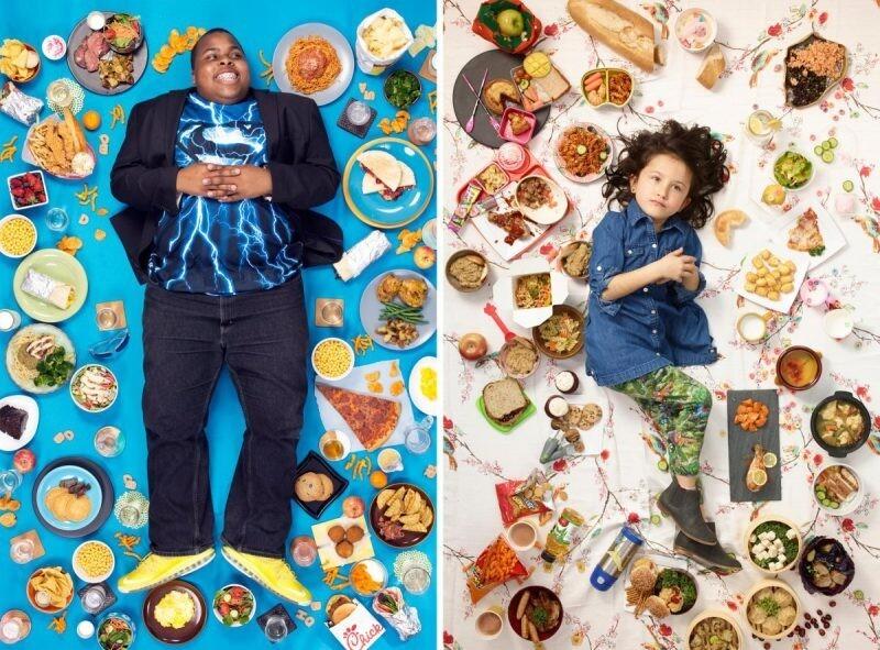 Хлеб наш насущный: удивительный фотопроект Грегга Сегала о рационах детей разных народов (10фото)