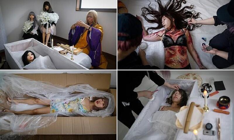 Японская художница помогает воплощать темные фантазии (26фото)
