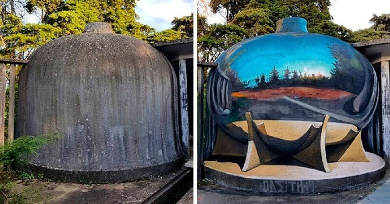 Граффити-художник создает потрясающие объемные рисунки (31фото)
