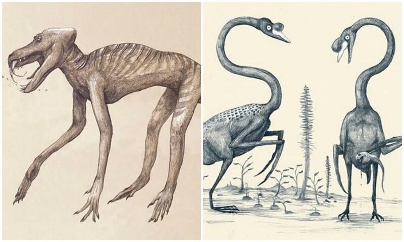 Как бы выглядели современные животные глазами палеонтологов будущего (5фото)