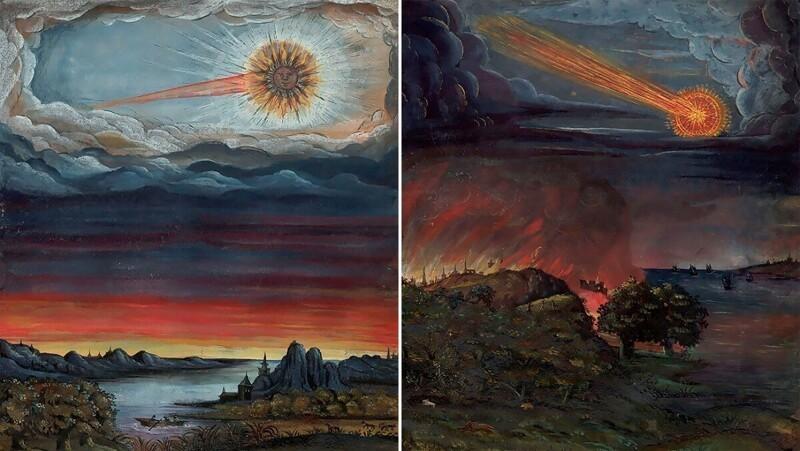 Так люди Средневековья рисовали космос! (11фото)