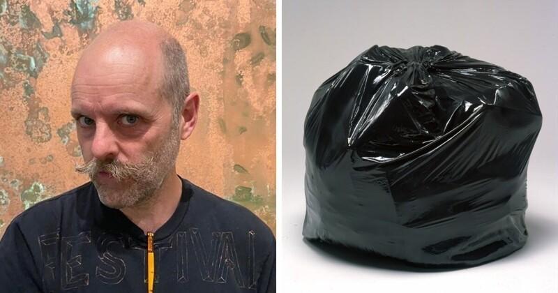 Необычный мешок с мусором на лондонском аукционе (7фото)
