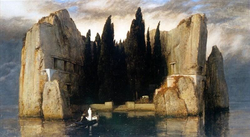 В чем феномен картины «Остров мертвых», и почему она была в кабинетах Гитлера и Ленина (4фото)