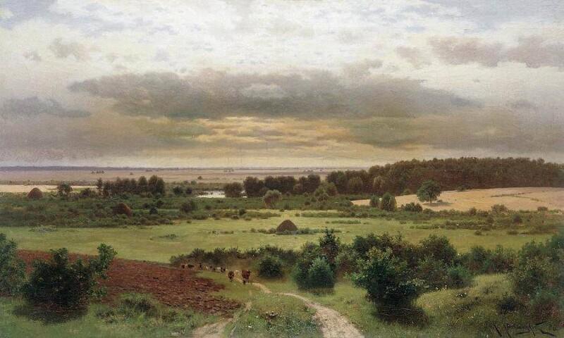 Замечательные пейзажи Крыжицкого Константина Яковлевича (1858—1911)