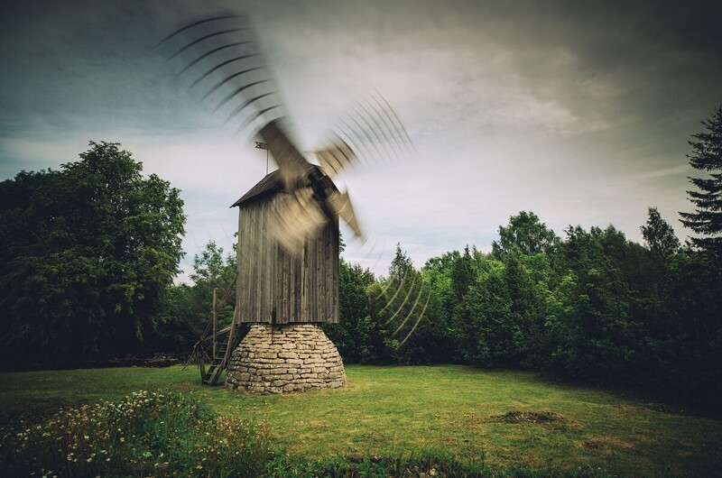 Мартинас Милкевичюс: эстетика хмурых пейзажей (8фото)